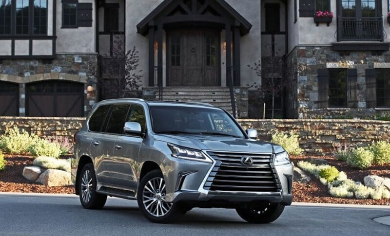 2019 Lexus LX - best suv vehicle for off road camping