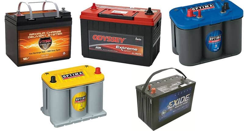 Battery For Dry Camping - best rv battery for dry camping large trailer
