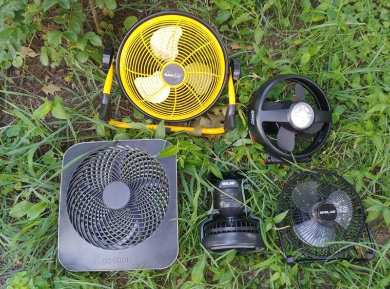 Best Camping Fan - best tent fan for camping
