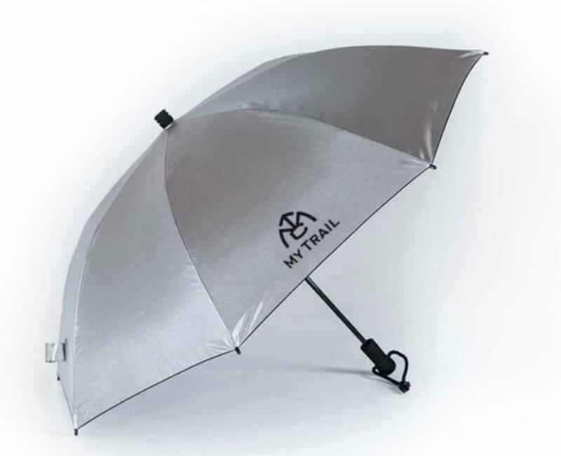 Chrome umbrella