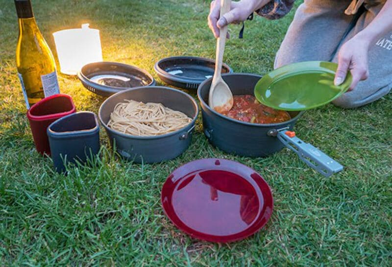 GSI Outdoors Pinnacle Camper - best non stick camping cookware