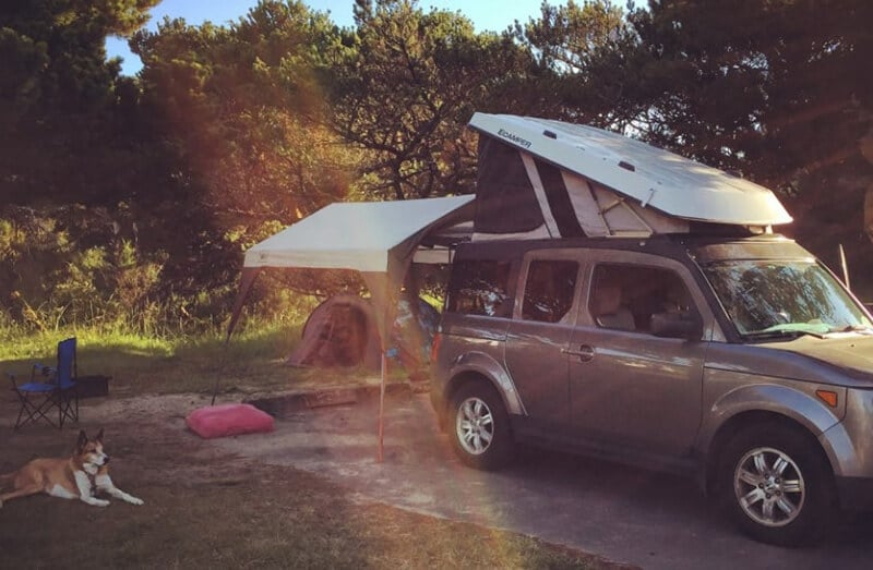 Honda Element - best used suv for camping