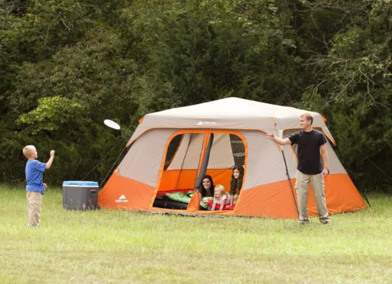 Instant Cabin Style Tent - best camping gear website