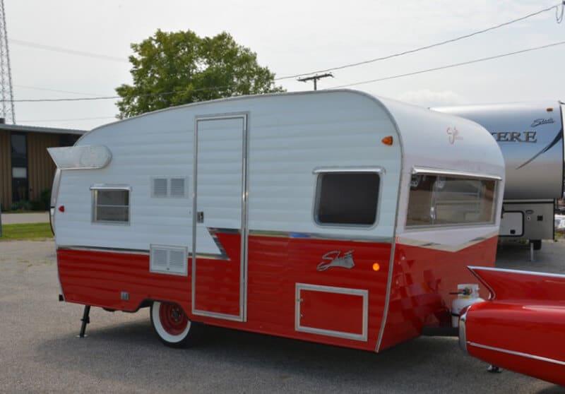 Retro Camper - best pop up camping trailers