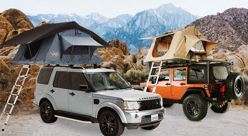Roof Best and Pick Up Auto Tent Set-up