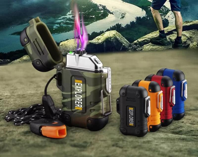 The Best Camping Lighter - best arc lighter for camping