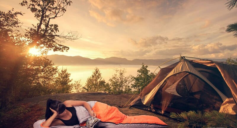 The best camping sleeping bag - best sleeping bag for car camping