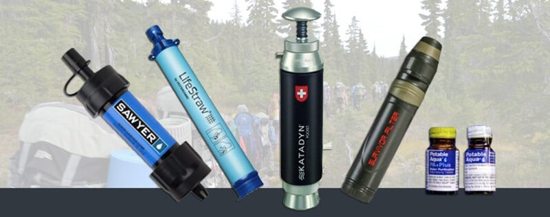 The best camping water filter - best portable water filter for camping