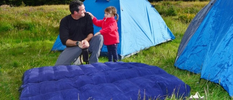 The camping air mattresses - best queen size air mattress for camping