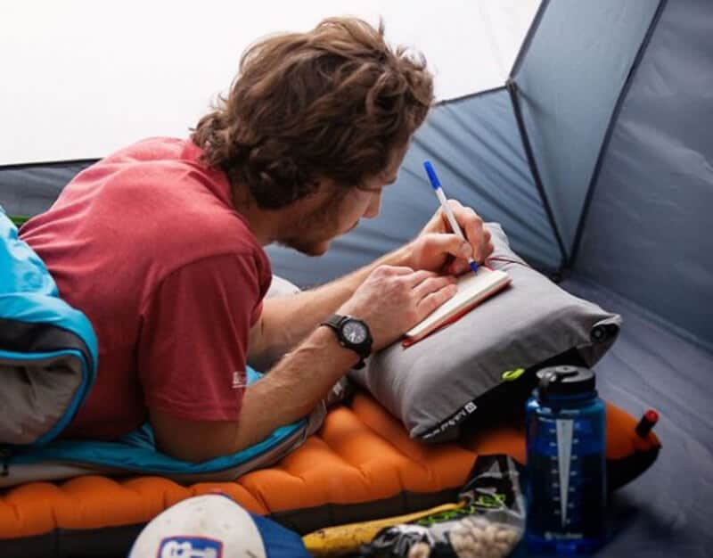 What is a Camping Pillow - best pillow for hammock camping