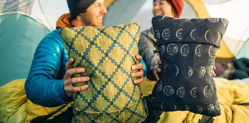 best camping pillow - best travel pillow for camping