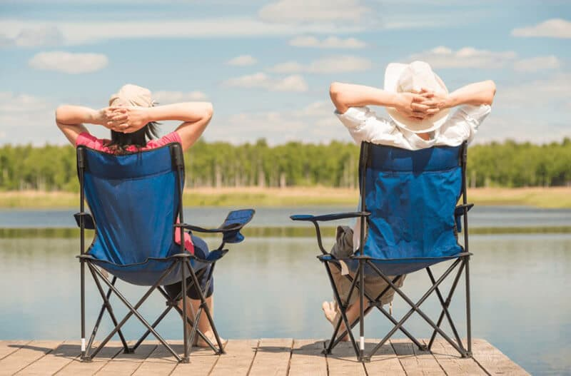 camping seat - best heavy duty camping chair