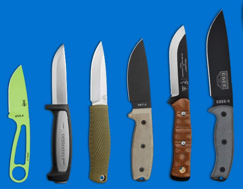 types of Camping Knives