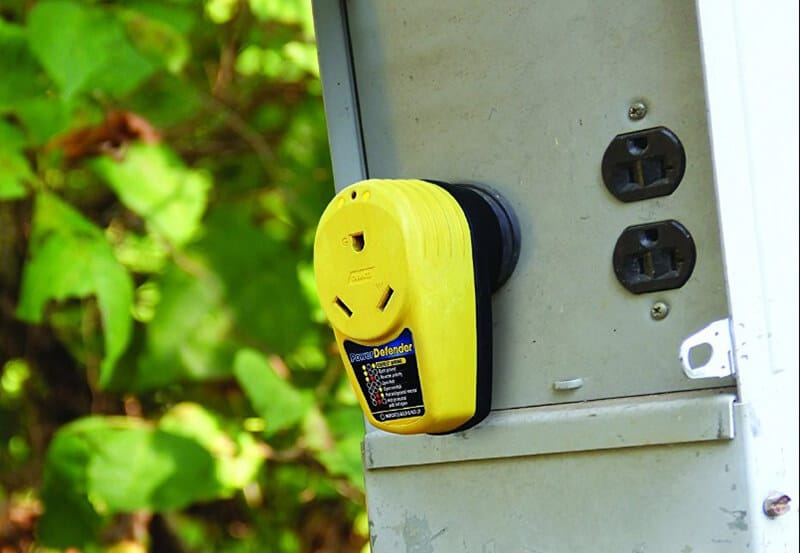 Best RV Surge Protector - best lock for a rv surge protector