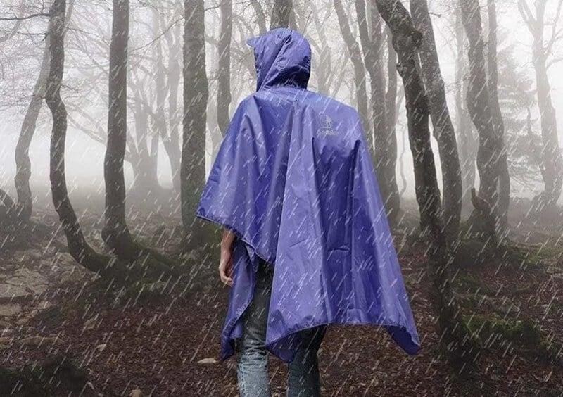Rain Ponchos vs. Rain Jackets - best tarp poncho