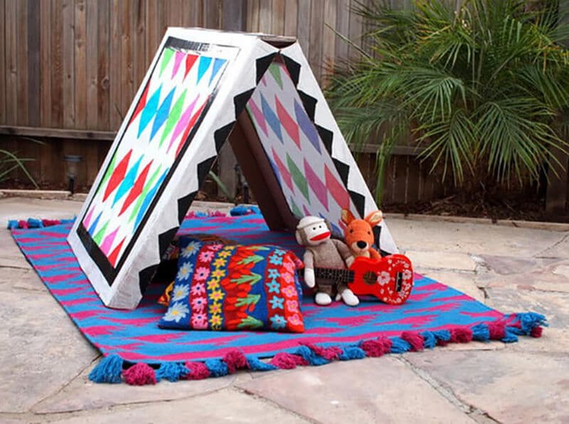 how to make a tent for kids