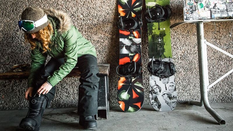 SNOWBOARD BOOT FIT