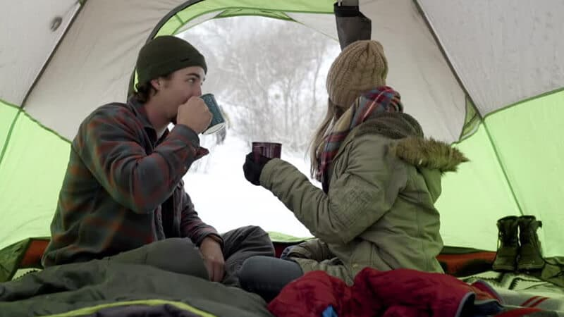 Staying Warm In A Tent