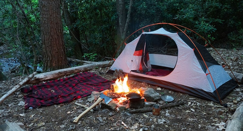 The best camping hacks - best untralight camping money hacks
