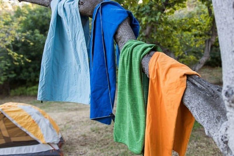 The best camping towel brands - best microfiber camping towel