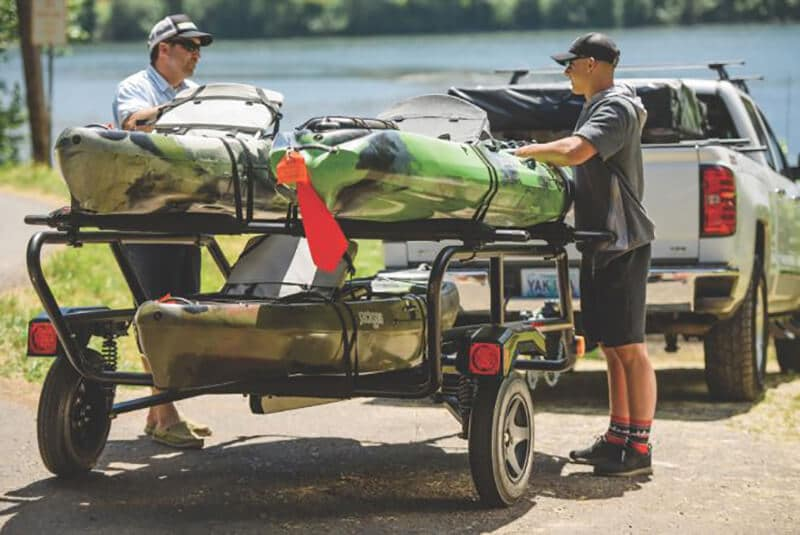The way to purchase the best trailer for multiple kayaks