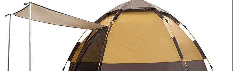 Toogh Backpacking Tent 3-4 Individual Hexagon