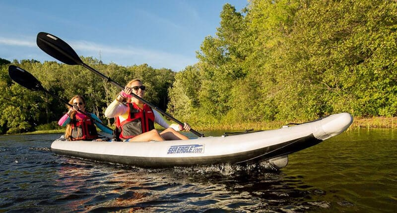 Top 12 Best 2 Person Inflatable Kayak Reviews 2020