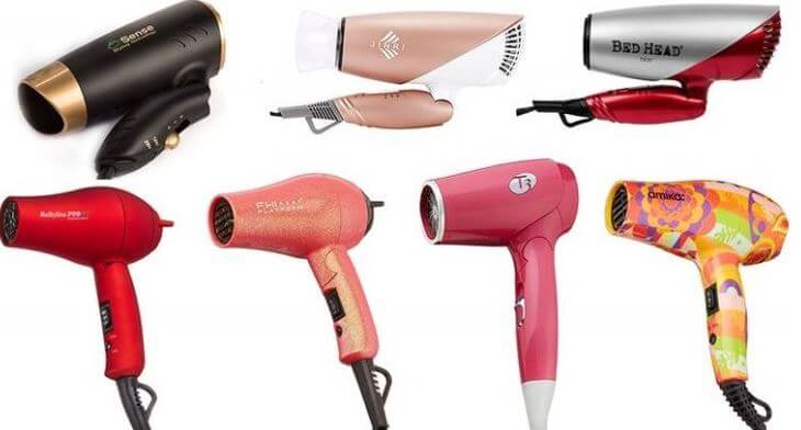 Top 18 Best Hair Dryer Brands For Traveling- best travel hair dryer with diffuser curly hair