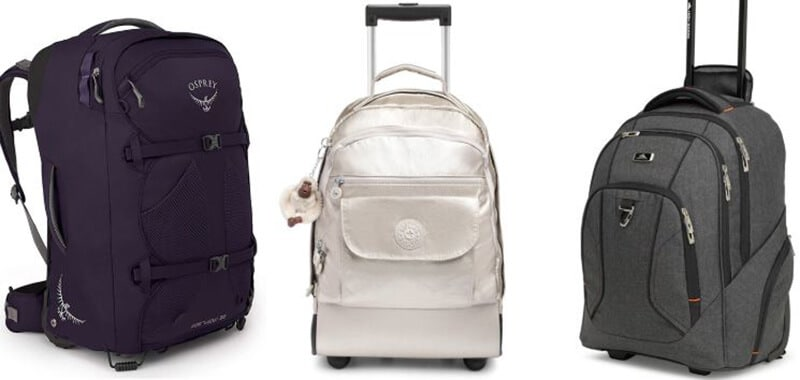 Top - Rated 18 Best Backpack With Wheels For Travel
