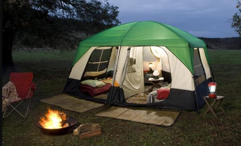 Why is a guyline essential to a tent significant