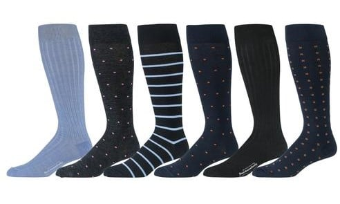 boardroom socks over the calf merino wool men's socks