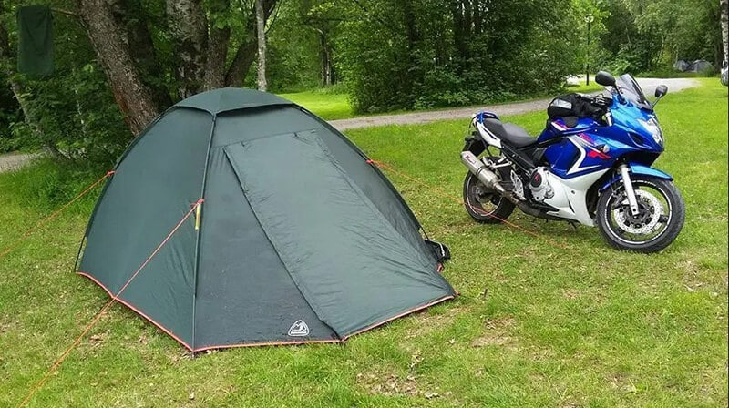 best tent for motorcycle