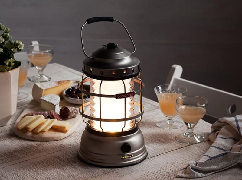 camping lantern - best dimmable camping rechargeable lantern