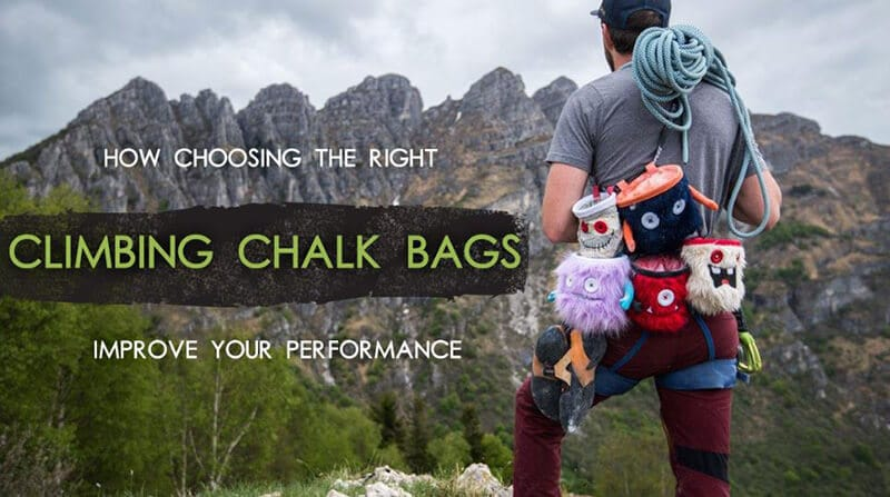Different types of Chalk Bags