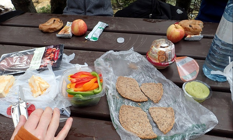 Dinner Meals for Multi-Day Hiking Trips