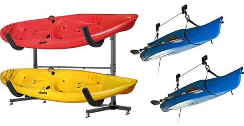 How To Build A Kayak Rack
