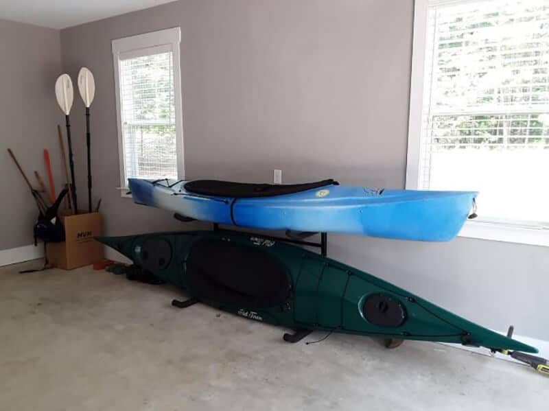 Indoor Vs. Outdoor Kayak Storage