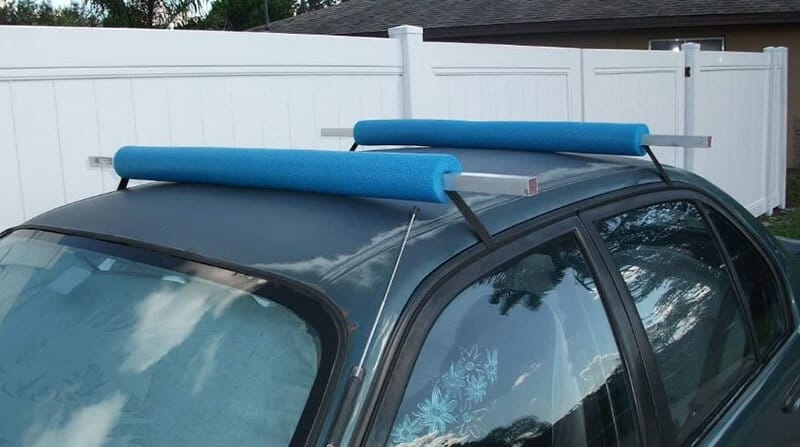 Set The Pool Noodles On Your Vehicle