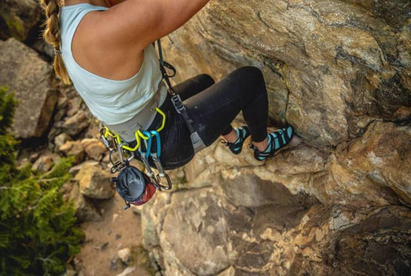 Top 11 Best Harness For Women Climbers - women rock climbing harness