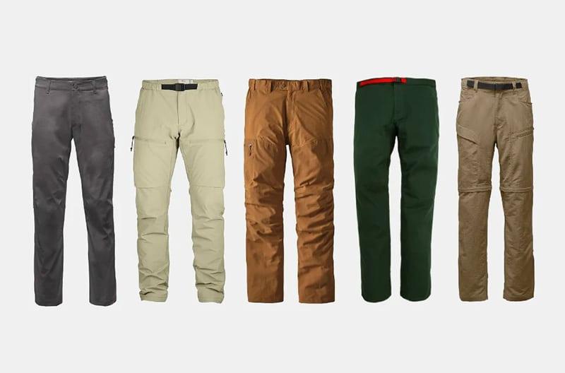 Top Best Hiking Pants For Men