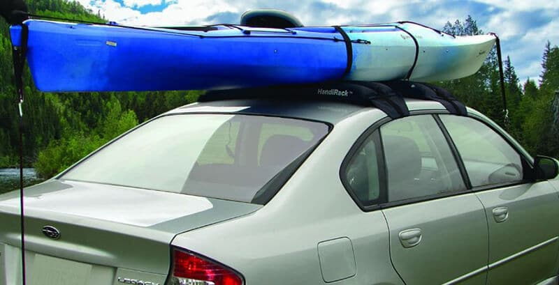 inflatable roof rack for kayak