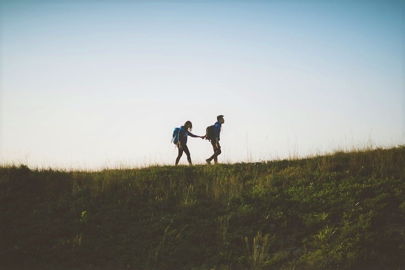 Top 5 best hiking places in USA for couples