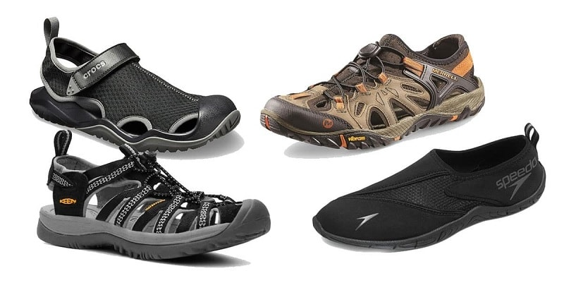 best mens water shoes brands