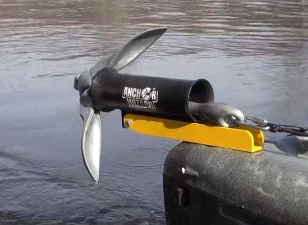 anchor down your kayak