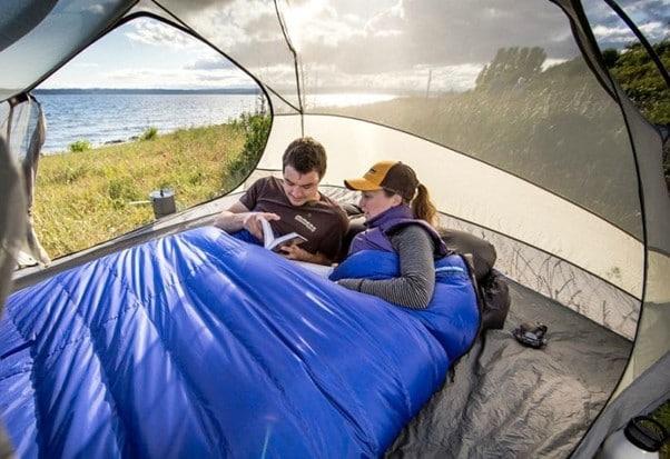 best double sleeping bag reviews