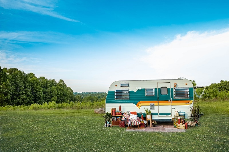 upgraded rv camper