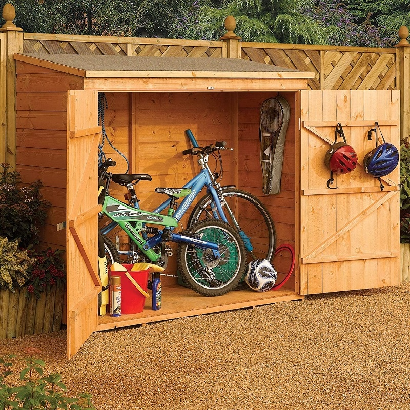 best bike storage shed reviews