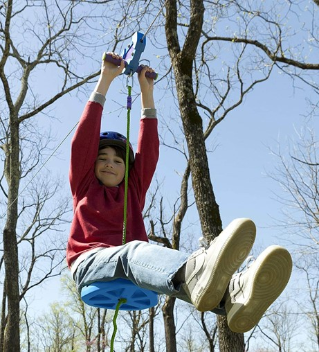 best outdoor ziplines for kids HearthSong