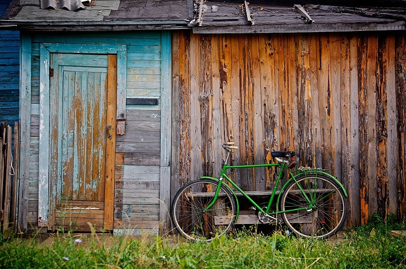 keeping bicycle outdoors