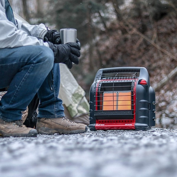 portable camping space heater